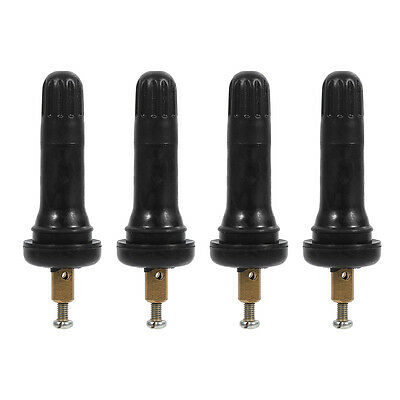 Anxingo Tire Pressure Monitoring System TPMS 20008 Snap in Tire Valve Stems for Buick Cadillac Chevy GMC Hummer Pontiac 4-Pack