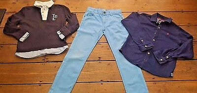 Boys Clothing Age 8 Years Jeans/top 3 Items Ex Cond. Joules, Timberland 3 Pommes