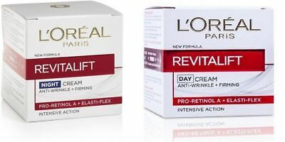 L'oreal revitalift day night cream anti-wrinkle intensive action