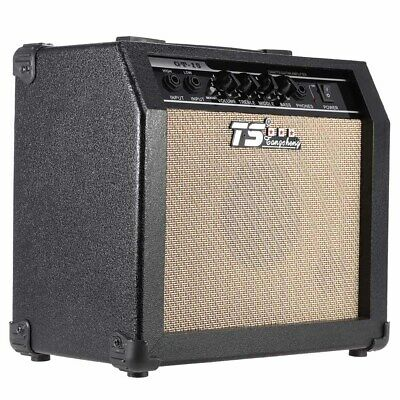 """GT-15 15W Electric Guitar Amplifier Amp Distortion with 3-Band EQ 5"""" Speaker USA"""