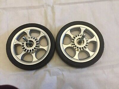 X2 MAMAS AND & PAPAS SOLA Rear Back Wheels FULL SERVICED FITS ZOOM SOLA Sola 2