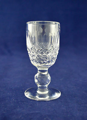 """Waterford Crystal """"COLLEEN"""" Liqueur / Cordial Glass – 8.3cms (3-1/4″) Tall"""
