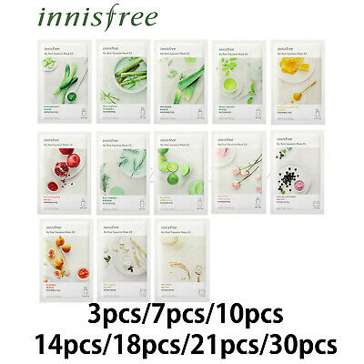 innisfree My Real Squeeze Mask 20ml (3/7/10/14/18/21/30pcs)