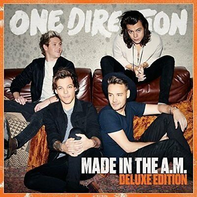 One Direction - Made In The A.M. (CD) Deluxe Ed *NEW* (Harry Styles, Zayn etc)
