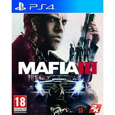 Mafia III 3 (PS4) BRAND NEW AND SEALED - IN STOCK - QUICK DISPATCH - IMPORT