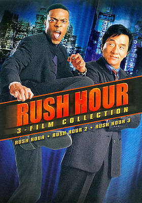 Rush Hour 1-3 Collection (DVD, 2011, 2-Disc Set)  Jackie Chan  Chris Tucker