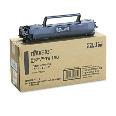 Muratec TS120 Toner 5500 Page-Yield Black