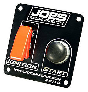 Joes Racing Switch Panel Ignition A/c Cover Start Button,46110 Heavy Duty 40 Amp