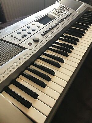 silver yamaha keyboard psr e313 ypt 310 electronic. Black Bedroom Furniture Sets. Home Design Ideas