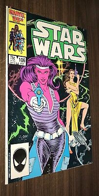 STAR WARS #106 -- July 1986 -- Next to Last Issue -- F/VF Or Better