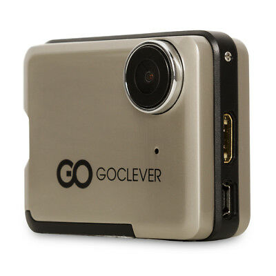 """GoClever DVR Camera 2"""" Full HD, 32GB, JPEG, Car & Action Combo DVR Extreme Gold"""