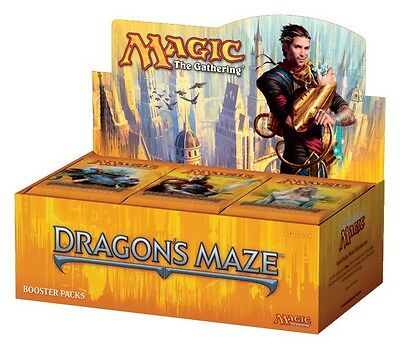 MAGIC THE GATHERING CCG - Dragon's Maze Cards Factory Sealed Booster Box #NEW