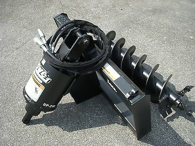 """Bobcat Skid Steer Attachment - Lowe BP210 Hex Auger with 12"""" Hex Bit - Ship $199"""