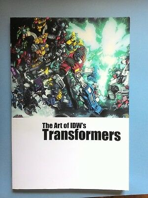 Transformers Art of IDW's Transformers book
