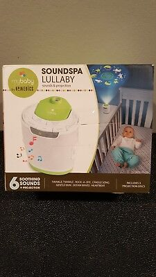 Mybaby Sound Machine Soundspa Lullaby Projector And Homedics Baby