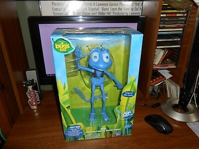 Thinkway Flik Ultimate Talking Action Figure A Bug's Life Brand New Free Ship!!
