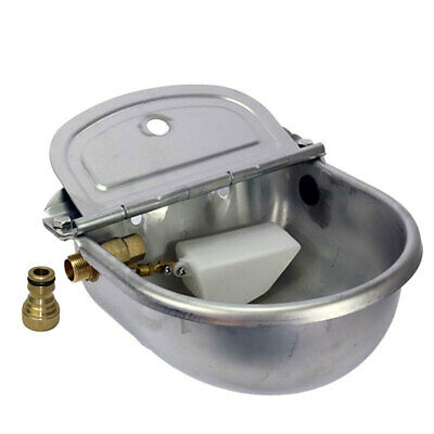 Automatic Water Trough Stainless Cat Horse Pig Cattle Bird Animal Stock Feeder