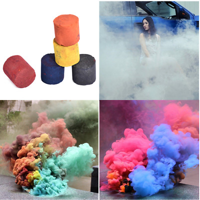 Multi-Color Smoke Cake Smoke Effect Show Round Bomb Photography Aid Toy Divine