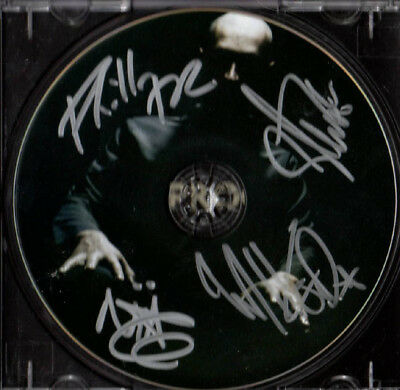 Taproot Autographed Signed x4 Plead The Fifth CD UACC RD C AFTAL