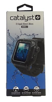 Catalyst Waterproof Case and Band for Apple Watch 38mm Series 2 - Black