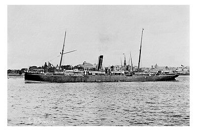 ss ARGUS of the Currie Line, Melbourne Modern Digital Photo Postcard