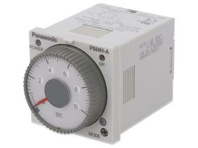 PM4HA-H-AC240VW Timer 0,1s÷500h DPDT 250VAC/5A 100÷240VAC socket, on