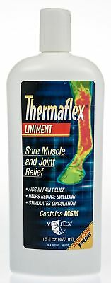 Thermaflex Liniment Solution, 16 oz