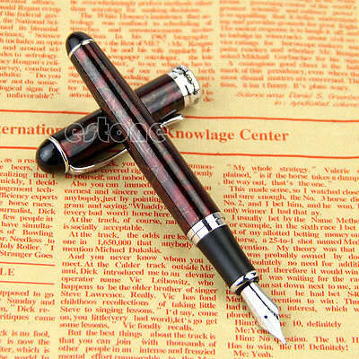 Hot JINHAO x750 Lava Red Medium Nib Fountain Pen