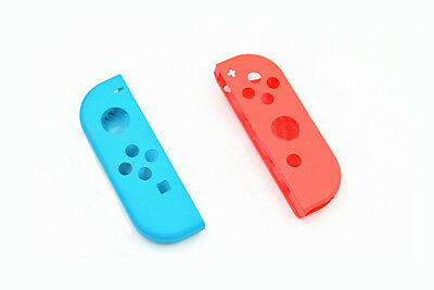 Blue and Red Hard Housing Shell Case for Nintendo Switch Joy-Con Controller