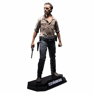 The Walking Dead Figur Rick Grimes Colour Tops 18 Cm Neu