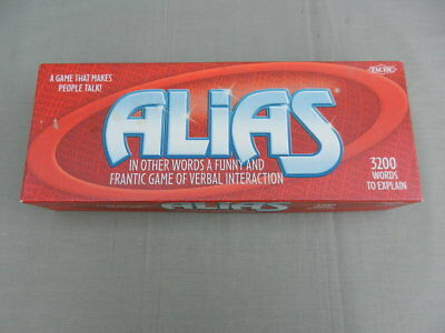 ALIAS BOARD GAME Tactic Made in Finland