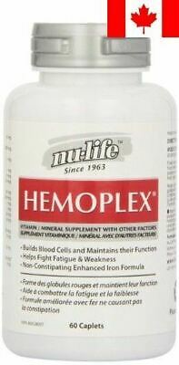 Nu-Life Hemoplex Caplets, 60 Count Bottle
