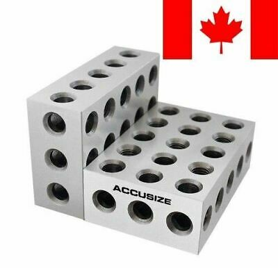 Accusize - Precision 1-2-3 Blocks 2Pcs/Set, #EG02-0411