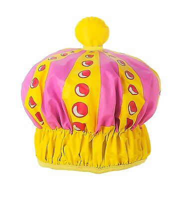 NPW Novelty Shower Cap Hat - Pink Queen Of The Shower Cap