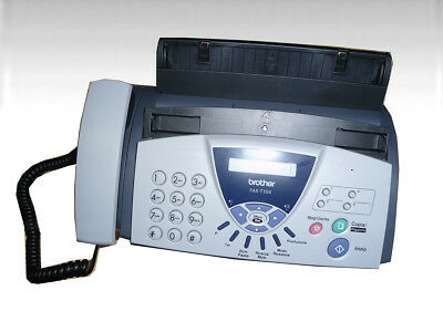 Brother FAX-T104 THERMO TRANSFER Faxgerät (W17-FD9787)