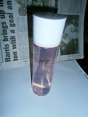 BOOTS No7 Soft & Soothed Gentle Toner 200ml/HOLIDAY/BIRTHDAY/Christma/NO ALCOHOL