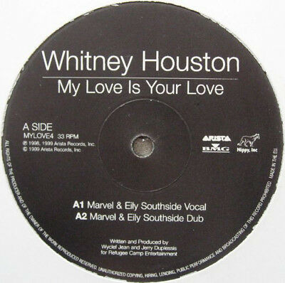 Whitney Houston / My Love Is Your Love / It's Not Right But It's Okay