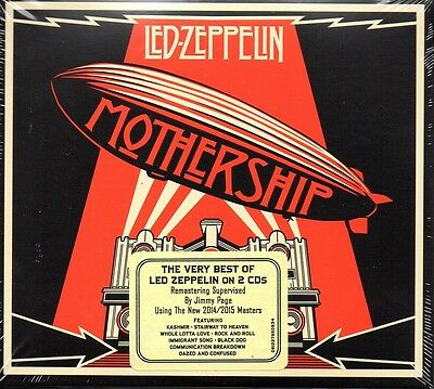 Led Zeppelin - Mothership/the Very Best Of....    *new & Sealed Cd Album*