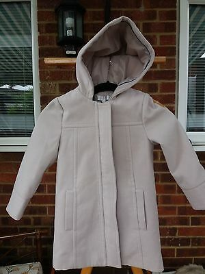 Stunning & Stylish J Jasper Conran Girl's Fully Lined Hooded Warm Coat - Age 6