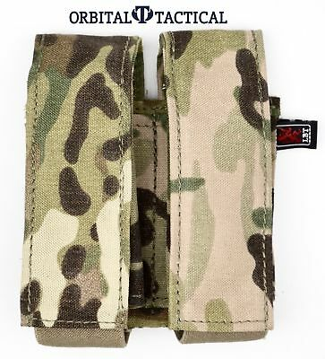 New London Bridge LBT 9033B 9mm 40mm Pistol Grenade Multicam Double Mag Pouch