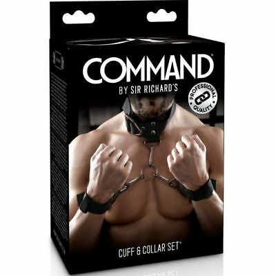 Fantasia Erotica Sir Richards Command Set De Esposas Con Collarin +Regalito