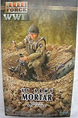 "BBI Elite Force collectable action figure 1/6 scale 12"" WW2 US Army MortarCorp"