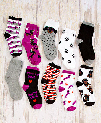 The Lakeside Collection Dog Breed Socks Dachshund