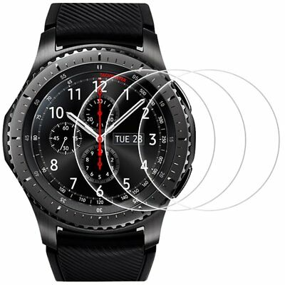 Screen Protector for Samsung Gear S3 Frontier and Classic, Perfect Fit, AFUNTA