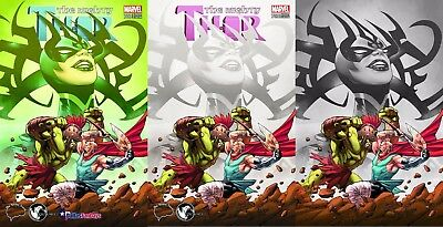 Mighty Thor 700 Greg Land Unknown Brain Trust 3 Pack Exclusive Variant Set Nm