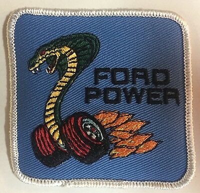 Ford Mustang Shelby Cobra Ford Power Patch!!! Free Shipping!!