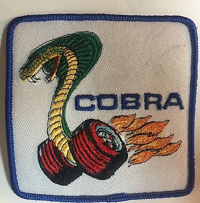 Ford Mustang Cobra Large Patch!!! Free Shipping!!