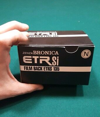 Bronica ETRSi  135 N Film Back for 35mm Film 24x35mm MINT with box