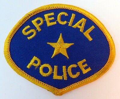 Vintage Special Police Law Enforcement Blue Patch Star NEW Lot of 29