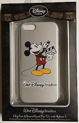 Iphone 5 Disney Store Walt Disney Studios Mickey Mouse Cell Phone Case!  Look